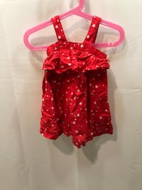 Red and White Baby Gap Tank Top/Shirt