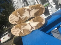 Pair of brown leather open-toe sandals Plainfield, 07063