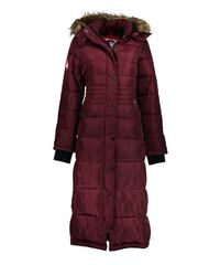 *NEW* Faux Fur-Lined Hooded Puffer Full Length Coat - XL Victoria
