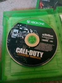 Call of Duty Ghosts Xbox One game disc