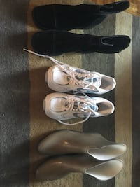 Three pairs of barely used ladies shoes Vancouver, V6J 2G8
