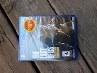 The Last of Us Remastered PS4 game case Mount Forest, N0G 2L1