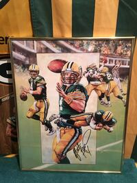 GB Packer Brett Favre Autographed
