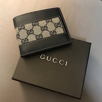 Men's new Gucci wallet with box 3742 km