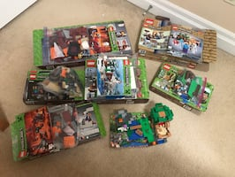50% OFF DISCOUNT CHEAP 8 LEGO Minecraft sets games MINT CONDITION
