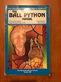 Book about Ball Pythons Dover, 44622