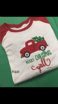 Merry Christmas Y'all! Xl adult shirt Kitts Hill, 45645