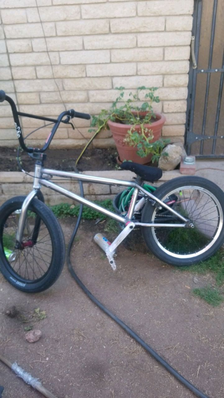 Photo Bike... fit with all custom parts including the new premium back hub.