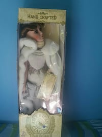 Hand Crafted American Classics porcelain doll box Woodbridge, 22192
