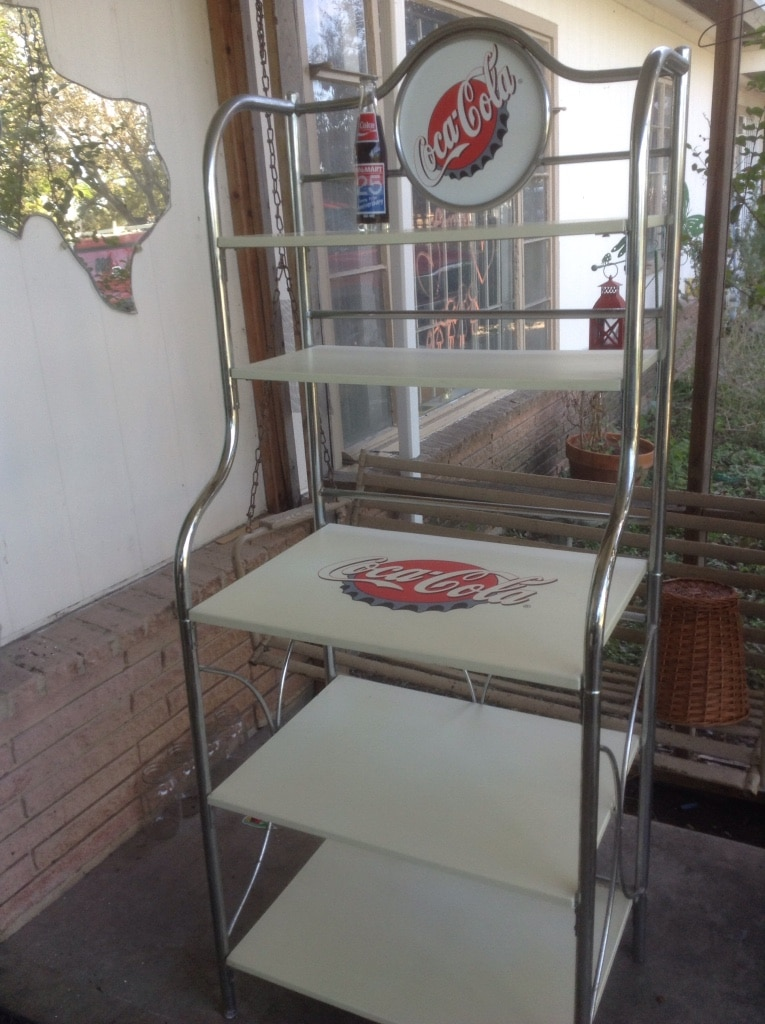 Letgo Coca Cola Bakers Rack In San Antonio Tx