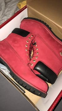 Red Timberland Boots Sz 10.5. Louisburg, 27549