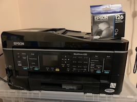 Epson workforce 630 all in one printer
