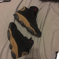 pair of black Air Jordan 13's Perth Amboy, 08861