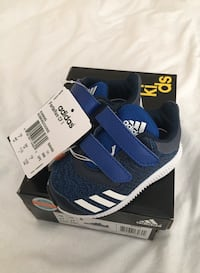 Pair of black-and-blue adidas sneakers Surrey, V4N 1E1