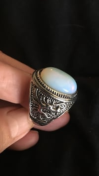 Beautiful men's size11 moonstone stainless ring Virginia Beach, 23451