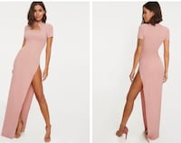 dusty pink maxi dress by PRETTY LITTLE THING Toronto