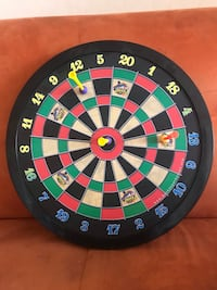 Lakeshore magnetic dart board. Suggested ages 6-11   New York, 10016