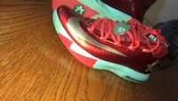 red-and-green Nike Kevin Durant basketball shoes Rogersville, 65742