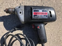 "Craftsman 3/8"" Corded Electric Drill - $10 Sterling"