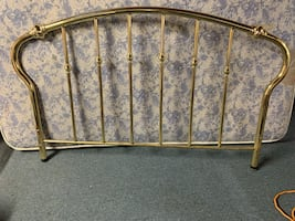 Double size gold bedframe