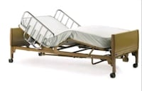 Extra Wide Hospital Bed for Home use Woodbridge