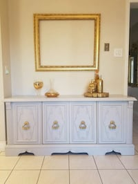 white and brown wooden cabinet Markham, L3T 7M6