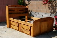 Full size bed with lots of storage Gardena, 90249