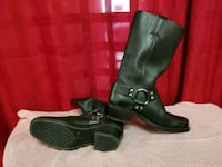 Frye Black Leather Harness Strap Motorcycle boots Salt Lake City, 84123