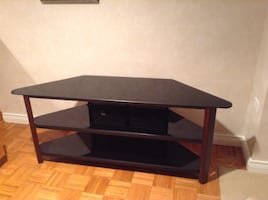 TV stand .   easy to assemble