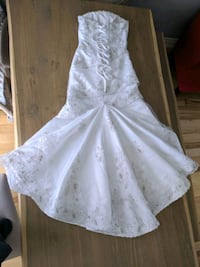 Wedding gown-$120