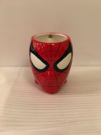 Brand new Spider man ceramic sculpted coffee mug - brand new