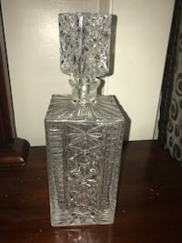 clear cut glass candle holder Whitby, L1N 1Z8