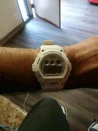 white Casio G-Shock digital watch Albuquerque, 87109
