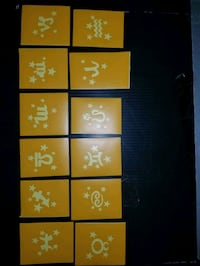 Astrology Signs Vinyl Adhesive Stencils