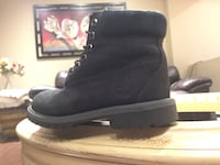 Black timberlands size 4.5 7/10 condition