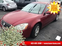 2003 Nissan Altima Red Manchester, 03103