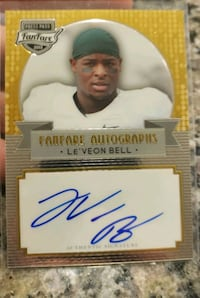 Leveon Bell Autographed Rookie card  Bakersfield, 93314