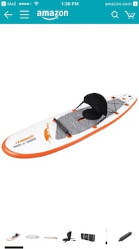 10 foot inflatable ray paddle board Miami Beach, 33139