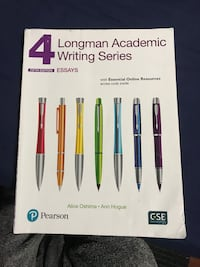 4 Longman Academic writing series English textbook  Mississauga, L4Z 3J7