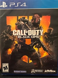 Call of Duty Black Ops 4 PS4 Brand New! 2397 mi