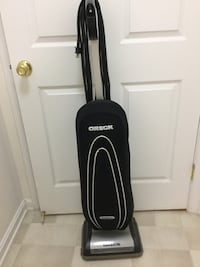 Black and gray oreck upright vacuum cleaner Westminster, 21157
