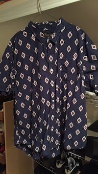 blue white and red button up shirt Guelph, N1G 3T7