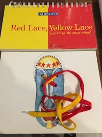 Tying laces- step by step and hands on