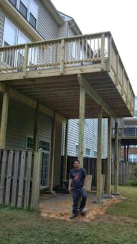 deck construction and maintenance Manassas