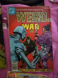DC Weird War Tales comic book Lewisville, 75067