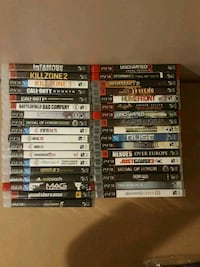 ps3 games mint condition some still sealed !! Barrie, L4N 8S5