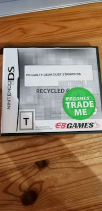 Guilty Gear Dust Strikers Nintendo DS plays on 3DS Toronto, M2J 1L3