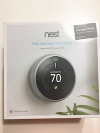 Nest Learning Thermostat 3rd Gen - NEW & UNOPENED
