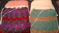 Crocheted dining room/kitchen chair cushions Burlington