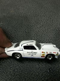 white and black die-cast car Hamilton, L8H 4K8